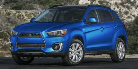 2015 Mitsubishi Outlander Sport ES Octane Blue MetallicBLACK V4 20 L Variable 0 miles  Four Wh