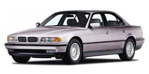 2000 BMW 7 Series 740iA Alpine White V8 44L Automatic 179129 miles  Traction Control  Stabili