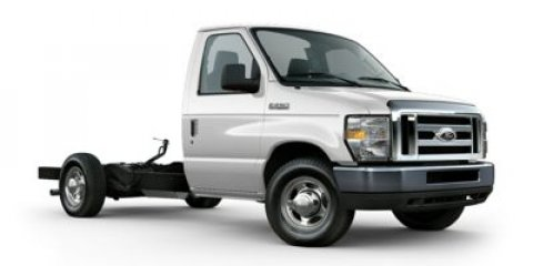 2015 Ford Econoline Commercial Cutaway FLEX FUEL TRITON V8 Oxford WhiteMedium Flint V8 54 L Aut