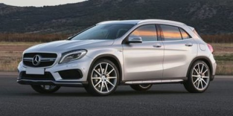 2015 Mercedes GLA-Class GLA45 AMG Arctic WhiteBlack Leather V4 20 L Automatic 15 miles  Turboc