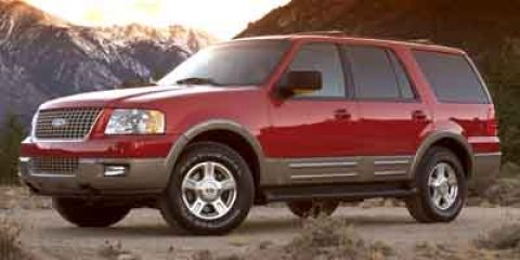 2003 Ford Expedition Eddie Bauer Laser Red V8 54L Automatic 87033 miles  Four Wheel Drive  Lo