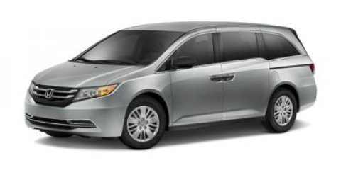 2015 Honda Odyssey LX Modern Steel MetallicGray V6 35 L Automatic 5 miles  GRAY CLOTH SEAT TRI