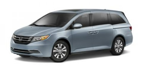 2015 Honda Odyssey EX-L Modern Steel MetallicGray V6 35 L Automatic 5 miles  GRAY LEATHER SEAT