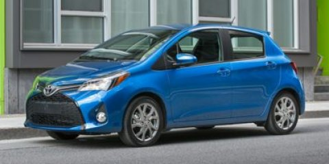 2015 Toyota Yaris SE Blue Streak MetallicBLACKCHANNEL V4 15 L Automatic 5 miles The Toyota Ya