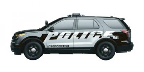 2015 Ford Utility Police Interceptor PLC Oxford WhiteCharcoal Cloth V6 37 L Automatic 11 miles