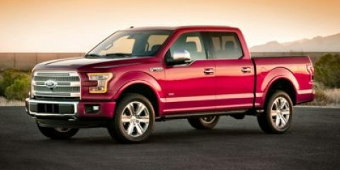 2015 Ford F-150 XLT 4X4 Ruby Red Metallic Tinted ClearcoatMedium Light Camel V8 50  L Automatic