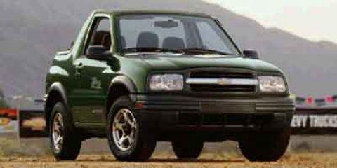 2002 Chevrolet Tracker Base Silver Metallic V4 20L Automatic 162942 miles  Rear Wheel Drive