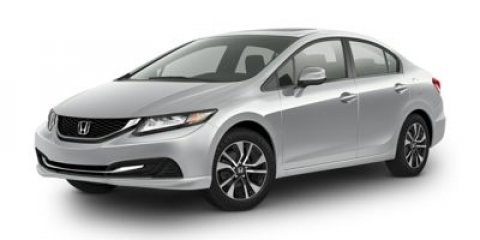 2015 Honda Civic Sedan EX Modern Steel MetallicGray V4 18 L Variable 6 miles  GRAY CLOTH SEAT
