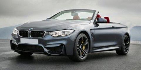 2015 BMW M4 Mineral White MetallicBlack V6 30 L  5 miles  Turbocharged  Rear Wheel Drive  Po