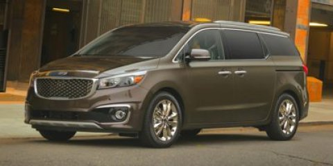 2015 Kia Sedona EX RedGray V6 33 L Automatic 5 miles The Kia Sedona minivan returns for 2015