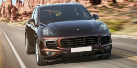 2015 Porsche Cayenne Diesel Moonlight Blue MetallicAgate Gray V6 30 L Automatic 10 miles This