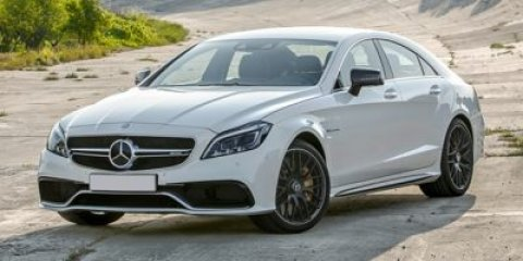 2015 Mercedes CLS-Class CLS63 AMG S-Model Designo Diamond White MetallicCharcoal Leathe V8 55 L