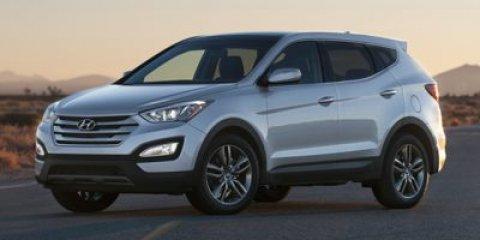 2015 Hyundai Santa Fe Sport L Frost White PearlBeige V4 20 L Automatic 50 miles  Turbocharged