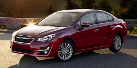 2015 Subaru Impreza Sedan Premium Venetian Red Pearl V4 20 L Variable 52 miles  All Wheel Dri