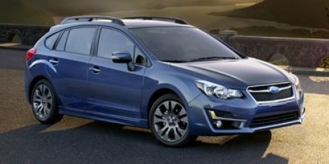 2015 Subaru Impreza Wagon 20i Sport Limited Deep Sea Blue PearlTaupe V4 20 L Variable 0 miles