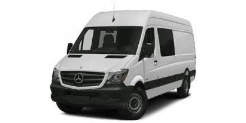 2015 Mercedes Sprinter Crew Van 4WD 2500 144 Brilliant Silver MetallicTunja Black V6 30 L Autom