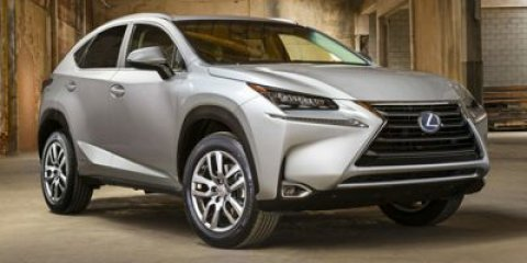 2015 Lexus NX 300h Obsidian V4 25 L Variable 1 miles  All Wheel Drive  Power Steering  ABS