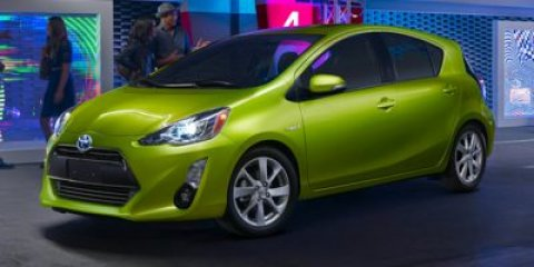 2015 Toyota Prius c Two Electric Lime Metallic V4 15 L Variable 0 miles  FE  CF  CARPET FLOO