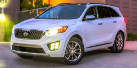 2016 Kia Sorento SX Titanium SilverBLACK V6 33 L Automatic 88 miles  All Wheel Drive  Power