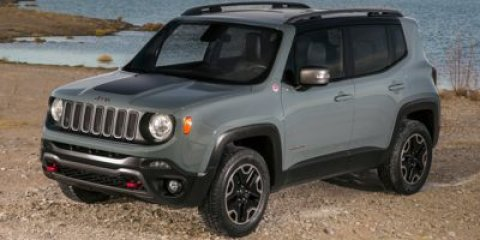 2015 Jeep Renegade Trailhawk Alpine WhiteCLOTH V4 24 L Automatic 0 miles  Four Wheel Drive