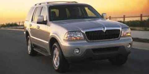 2003 Lincoln Aviator Base Silver Birch Metallic V8 46L Automatic 95713 miles 4D Sport Utility