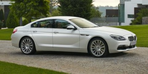 2016 BMW 6 Series 640i Glacier Silver MetallicLCSW BLACK DAKOTA LEATHER V6 30 L Automatic 0 mi