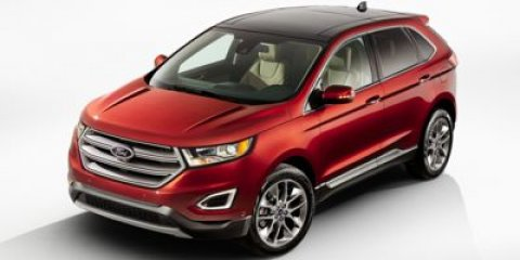 2015 Ford Edge Titanium White Platinum Metallic Tri-CoatCeramic V6 35 L Automatic 0 miles The