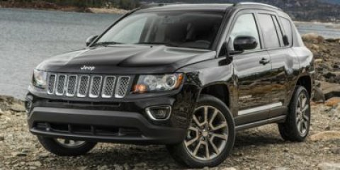 2016 Jeep Compass Sport Black Clearcoat V4 20 L  0 miles  Front Wheel Drive  Power Steering