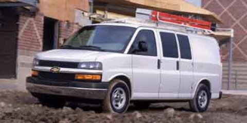 2004 Chevrolet Express Cargo Van Base Summit White V6 43L Automatic 207162 miles Dont let the