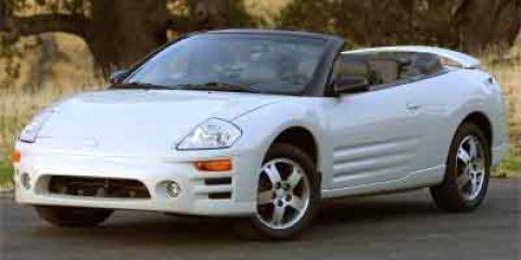 2003 Mitsubishi Eclipse GTS  V6 30L Automatic 175001 miles  Traction Control  Front Wheel Dri