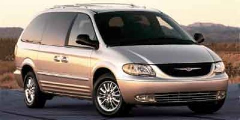 2002 Chrysler Town  Country LX Inferno Red Tinted Pearl V6 33L Automatic 82877 miles Red and
