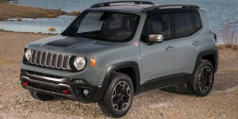 2015 Jeep Renegade Trailhawk Black V4 24 L Automatic 32984 miles  Four Wheel Drive  Power Ste