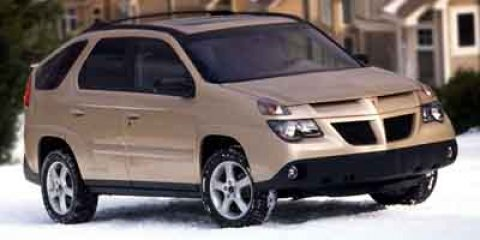 2003 Pontiac Aztek 4DR SUV FWD Red V6 34L Automatic 999999 miles Score a deal on this 2003 Po