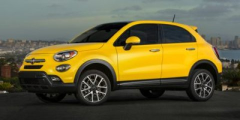 2016 FIAT 500X Easy Tricoat YellowBlackGrey V4 24 L Automatic 4 miles  Front Wheel Drive  P