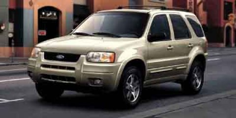 2003 Ford Escape XLS Popular True Blue Metallic V6 30L Automatic 132924 miles Priced Below M