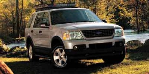 2003 Ford Explorer XLT White V6 40L Automatic 0 miles  Four Wheel Drive  Tow Hitch  Tires -