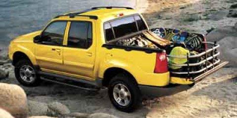 2003 Ford Explorer Sport Trac Oxford White V6 40L  182528 miles The Sales Staff at Mac Haik Fo