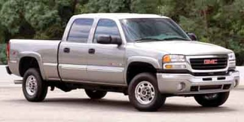 2003 GMC Sierra 2500HD Pewter Metallic V8 66L M74 237539 miles  Four Wheel Drive  Tow Hooks