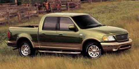 2003 Ford F-150 King Ranch Burgundy Red MetallicCastano Dark Brown V8 54L Automatic 62160 miles