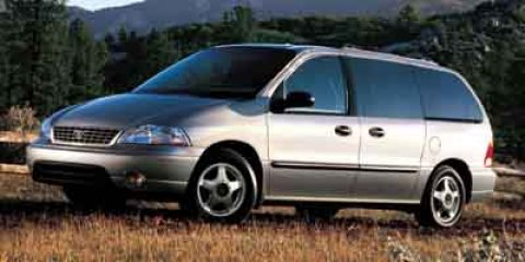 2003 Ford Windstar Wagon LX Light Sapphire Blue Metallic V6 38L Automatic 62983 miles  Front W