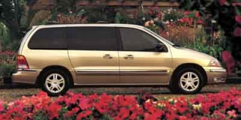 2003 Ford Windstar Wagon SE Light Parchment Gold Met V6 38L Automatic 182792 miles  Front Whe