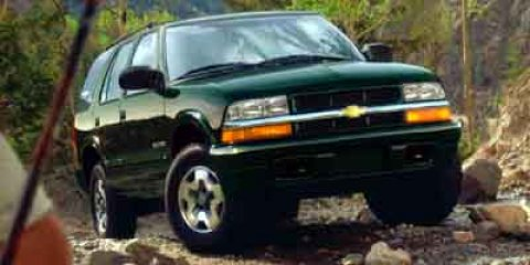 2002 Chevrolet Blazer LS Indigo Blue MetallicBLACK V6 43L Automatic 116235 miles WE LOVE OUR