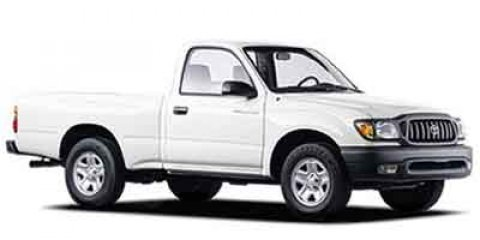 2003 Toyota Tacoma REG CAB 2WD MT Super White V4 24L Manual 86800 miles  Rear Wheel Drive  Ti