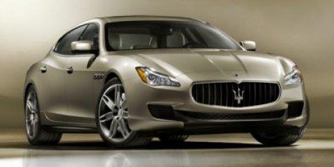 2014 Maserati Quattroporte S Q4 NeroNero V6 30 L Automatic 10040 miles  Turbocharged  All Wh