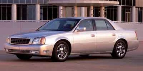 2003 Cadillac DeVille DTS  V8 46L Automatic 0 miles  Front Wheel Drive  Traction Control  S