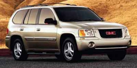 2003 GMC Envoy SLT Summit White V6 42L Automatic 191807 miles  Four Wheel Drive  Tow Hitch