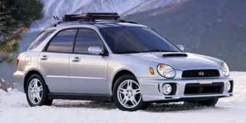 2003 Subaru Impreza Wagon WRX Blue PearlOff Black V4 20L Automatic 96165 miles  Leather-wrapp