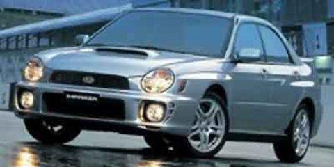 2003 Subaru Impreza Sedan WRX Platinum Silver MetallicOff Black V4 20L Manual 194325 miles Ac