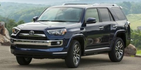 2016 Toyota 4Runner Limited Nautical Blue PearlBlack V6 40 L Automatic 5 miles FREE CAR WASHE