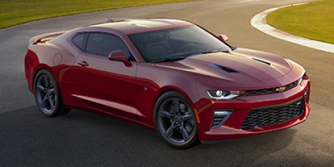 2018 Chevrolet Camaro SS RED HOTJet Black V8 62L Manual 6 miles  LPO BLACK METALLIC BODY-SIDE